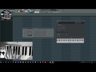 Распределение инструментов по MIDI зонам. Split Range на МИДИ клавиатуре в FL Studio