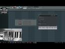 Распределение инструментов по MIDI зонам Split Range на МИДИ клавиатуре в FL Studio