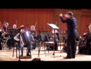 Гриша Тюлеманов участник концерта Вера, Надежда, Любовь и Музыка Выступление с оркестром И.М.Лермана