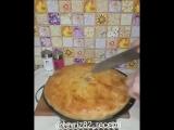 Цкен (цкан) лезгинский слоенный пирог
