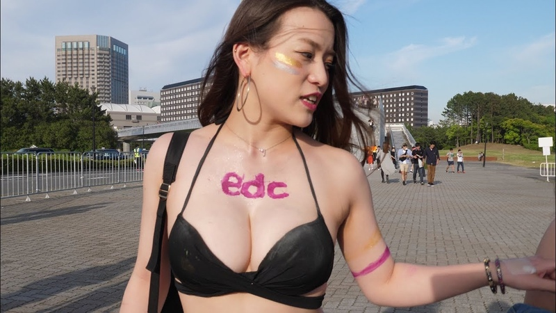 EDC JAPAN 2018 How was the train ride 「電車どうだった?」4K