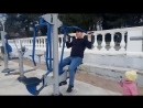 Спортзал на берегу моря обзор #геленджик