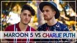 Maroon 5 VS Charlie Puth MASHUP!! (Kurt Hugo Schneider ft. Fly By Midnight)