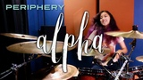 Christal Alpha - Periphery (drum cover + sheet music)