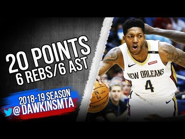 Elfrid Payton Full Highlights 2018.10.23 vs Clippers - 20 Pts, 6 Rebs, 6 Assists! | FreeDawkins