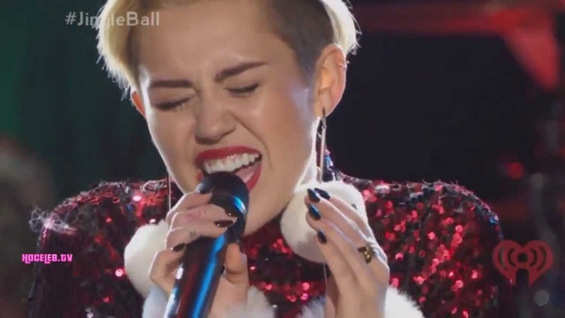 Miley Cyrus - Wrecking Ball (Live At Z100s Jingle Ball 2013)