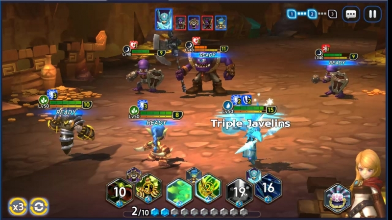 Авто пак на Б10 Кабана. Skylanders: Ring of Heroes Beast of Labyrinth 10F