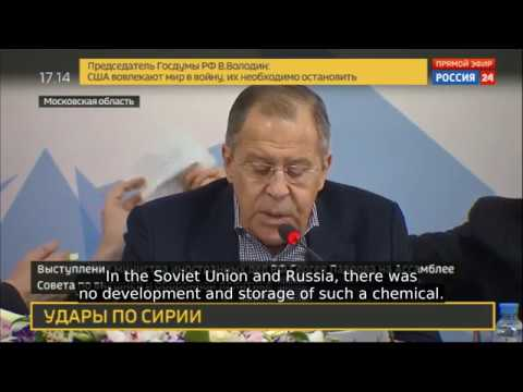 BREAKING! Lavrov Swiss Lab Certifies Skripals Were Poisoned With Nerve Gaz From NATO Arsenals