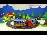 Строим из Lego Duplo, LEGO DUPLO 10507 My First Train Set, Лего Дупло Мой первый поезд