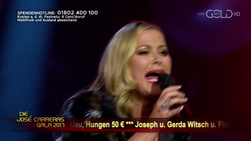 Anastacia - One Day In Your Life (Die Jose Carreras Gala - 2017-12-15)