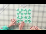 How to Make the Bella Skill Builder Quilt - Block 1a and 1b Kaleidoscope