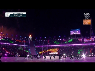 FULL CUT 180225 PyeongChang 2018 Winter Olympics Closing Ceremony @ EXO