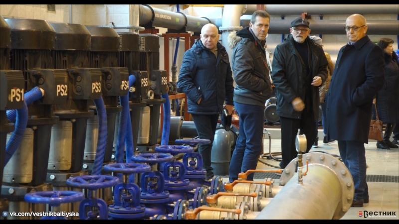 Делегация БМР с визитом на частном предприятиии водопроводно-канализационного хозяйства Puwis Новогард (Польша)