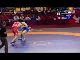 Чемпионат Европы. Греко-римская борьба. Vlasov vs Dzamashvili. Четвертьфинал