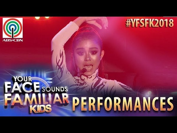 Your Face Sounds Familiar Kids 2018 Sheena Belarmino as Sarah Geronimo | Tala