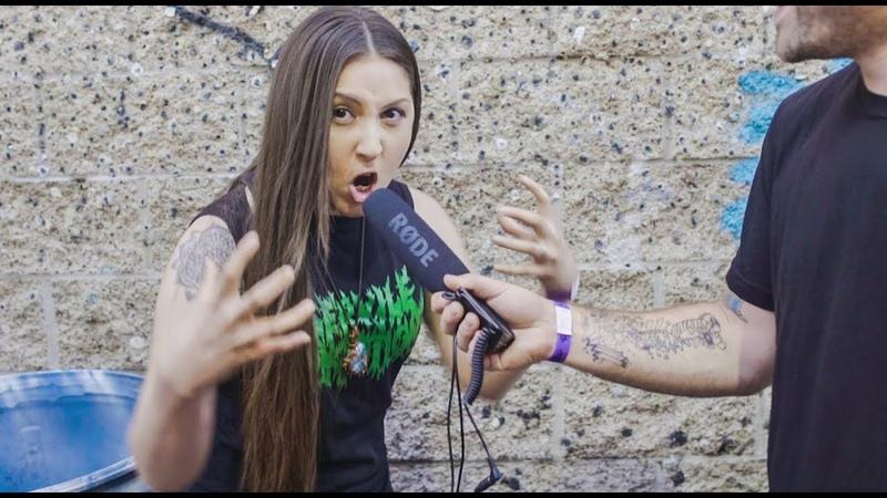 Metal screaming doesn't take talent