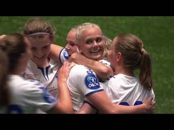 Footballworldwomensmen Serieforeningen kvinnefotball Høydepunkter Toppserien2018