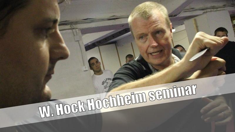 Hock Hochheim CQC szeminárium - Budapest 2012