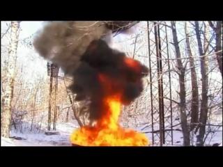 Модули порошкового пожаротушения ТУНГУС