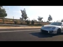 Старенький ВАЗ и Porsche 911 зацепились на трассе! Old VAZ vs Porsche 911