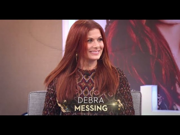 """TUESDAY! """"Will Grace"""" star Debra Messing!"""