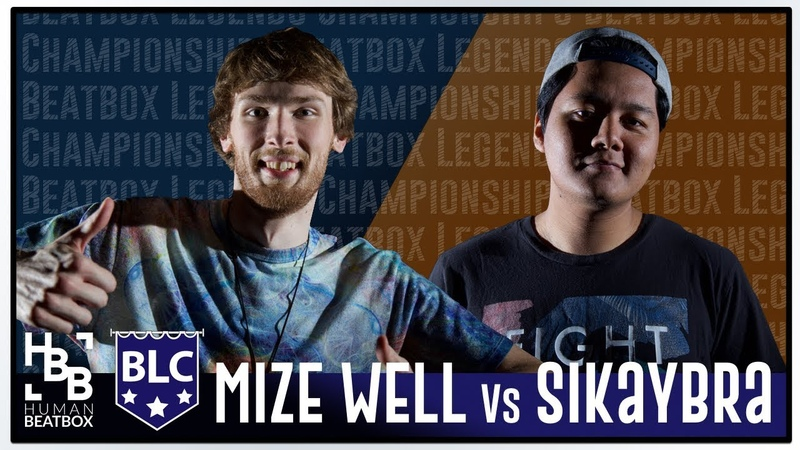 Top 16 | Mize Well vs Sikaybra | Beatbox Legends Championships 2018