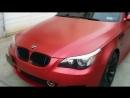 BMW M5 (E60 V10) - Matte Metallic_Satin Pearl Red