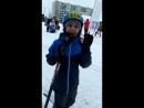 11.02.18 Привет от юного лыжника
