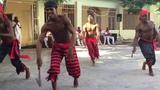 Elegua performance by students of Conjunto Folklorico Nacional de Cuba at the Gran Palenque, Havana.