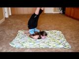 Then Vs Now - Gymnastics Flexibility_ Rachel Marie