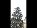 Рождественская сказка на Толпа на Staroměstské náměstí