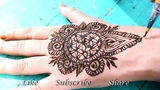 Beautiful Design Girly Mehendi Sacred geometry pattern Henna Art by Fankaara diaries