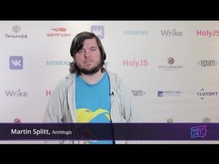 О JavaScript-конференции HolyJS