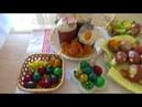 Домашние пельмени с мясом!Как празднуют Пасху в Рождественском храме!