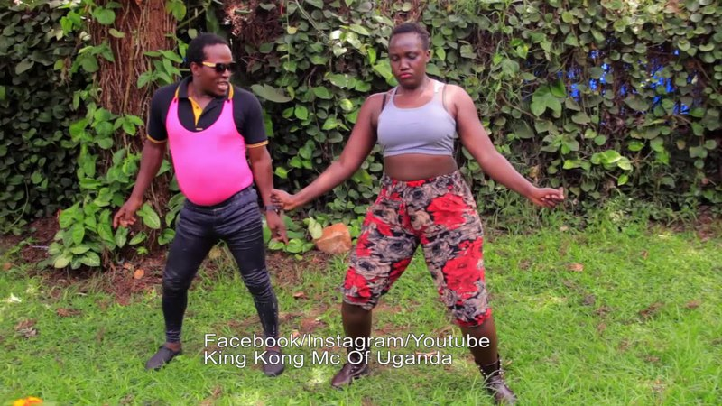 Knocking big weight dance by King Kong Mc Of Uganda and Cox