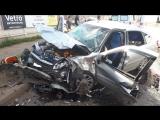 Жесткая авария на Маяковского.