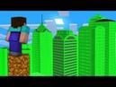 НУБ НАШЕЛ ГОРОД из ИЗУМРУДОВ В Майнкрафте! Minecraft Мультики Майнкрафт троллинг Нуб и Про