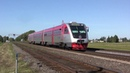Дизель-поезд РА2-034 на о.п. Кутишкяй / RA2-034 DMU at Kutiškiai stop