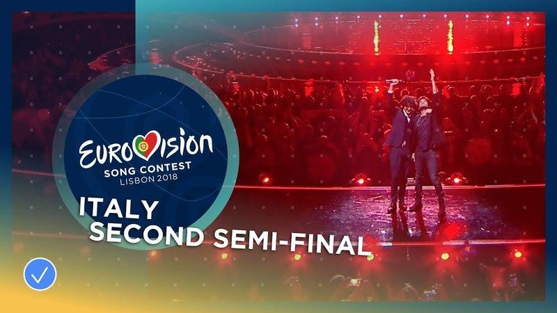 Ermal Meta e Fabrizio Moro - Non Mi Avete Fatto Niente - LIVE - Italy - Second Semi-Final