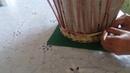 Газетное плетение. Плетем стеночки корзинки ситцевым плетением и веревочкой