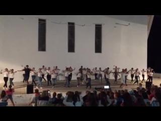 Танец вожатых, 4 смена, лето 2018