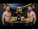 UFC 219 Myles Jury vs Rick Glenn