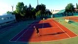 tennis (street hard) 8.07.18 vs Vladimir M.