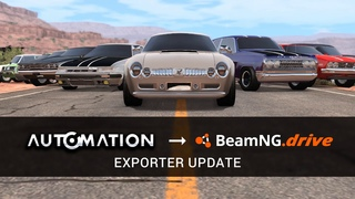 Announcing Automation & BeamNG.drive Collaboration!