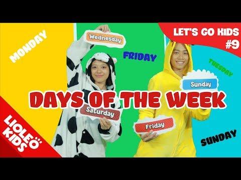 Tiếng Anh cho bé qua sách Let's Go 9: Các ngày trong tuần - Days of the week |Lioleo Kids|