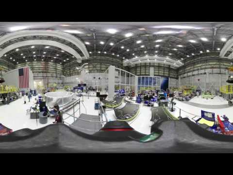 Take a 360 Tour inside Boeing's Starliner Factory