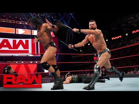 Reigns, Bálor and McIntyre brawl in high-stakes Triple Threat Match: Raw, July 16, 2018