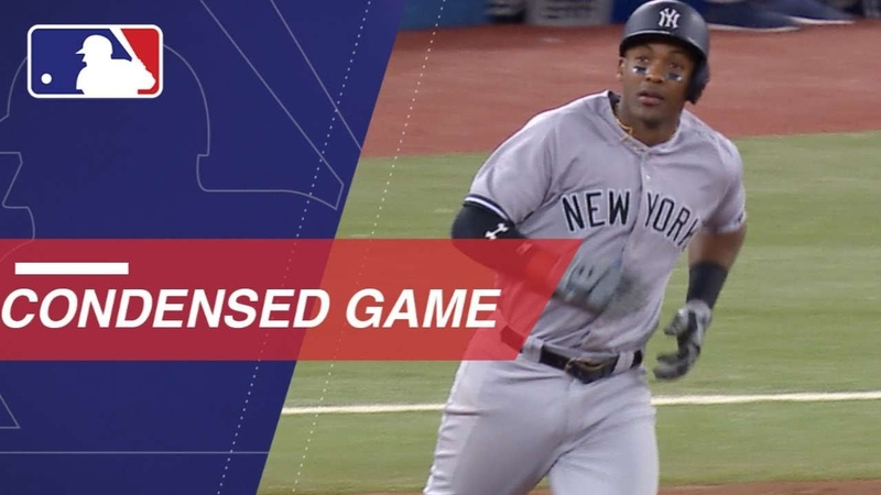 Condensed Game NYY@TOR - 6518