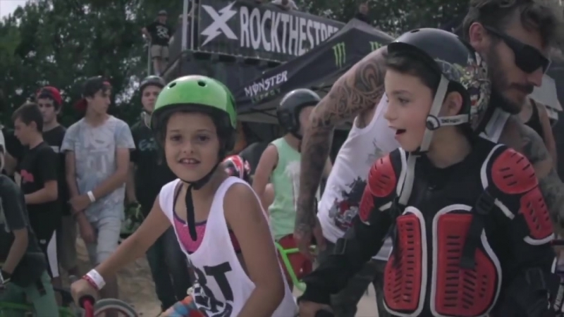 Final Mini bmx max rider Serignan lord of dirt 2014