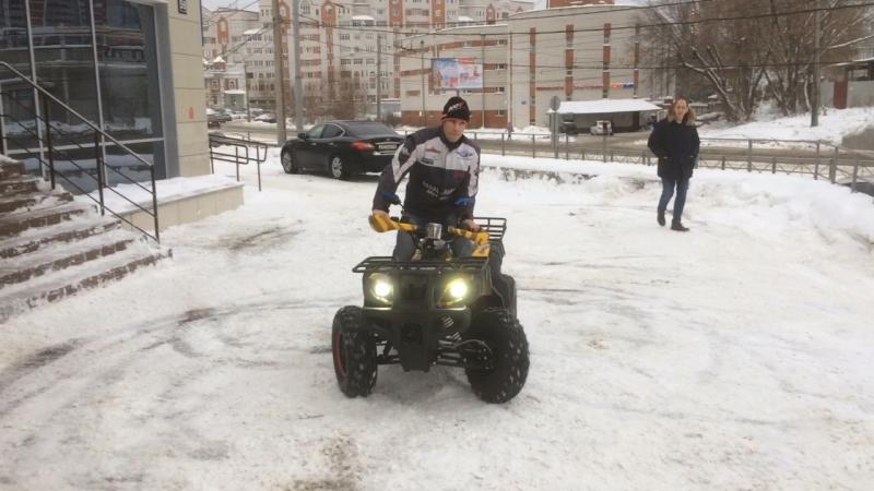 Тест-драйв Квадроцикл AVANTIS Hunter 150
